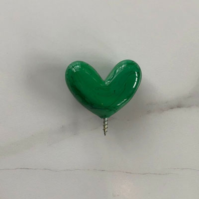 Bamboo Green Heart