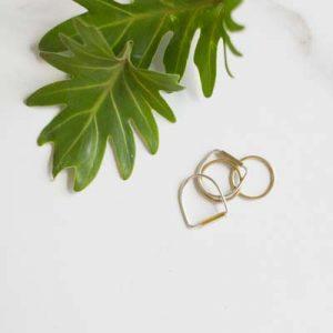 Silver & Metal Ring 3