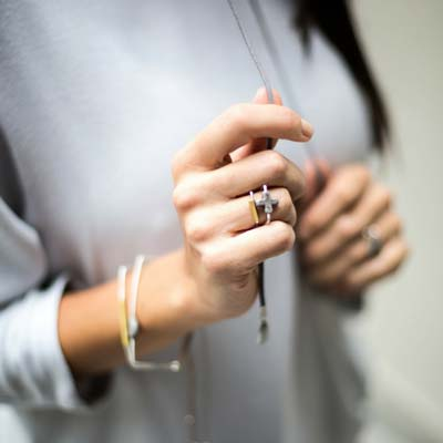 Cross U-Shape Ring 2