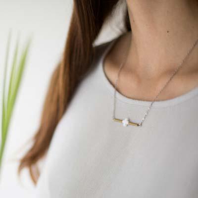Cross Metal Necklace 2