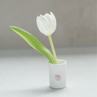 Toothpick Holder with Flower