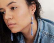 Earrings with Tassel